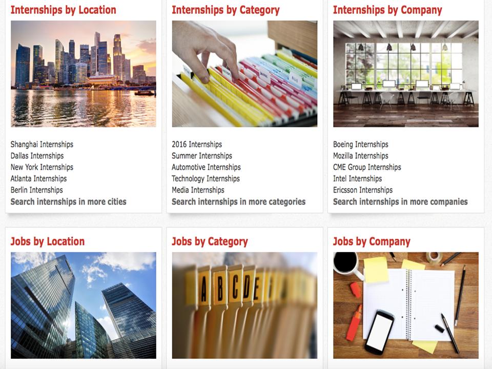 Zoomdojo internships page