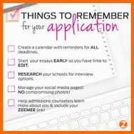 ZeeMee checklist